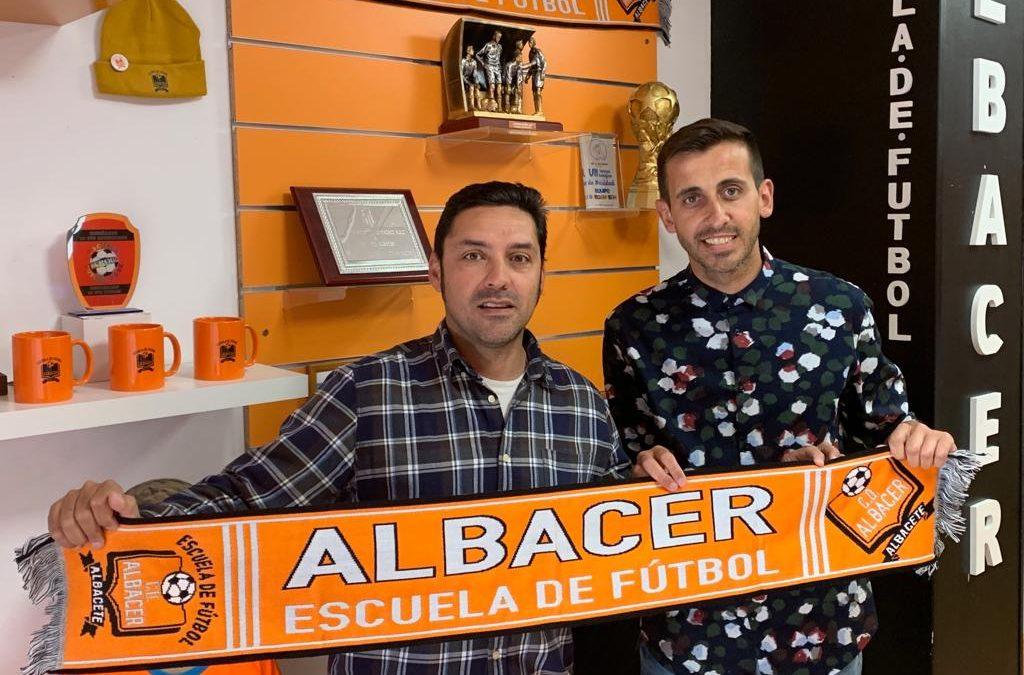 Pedro H. Moreno nuevo Director Deportivo de EF. Albacer