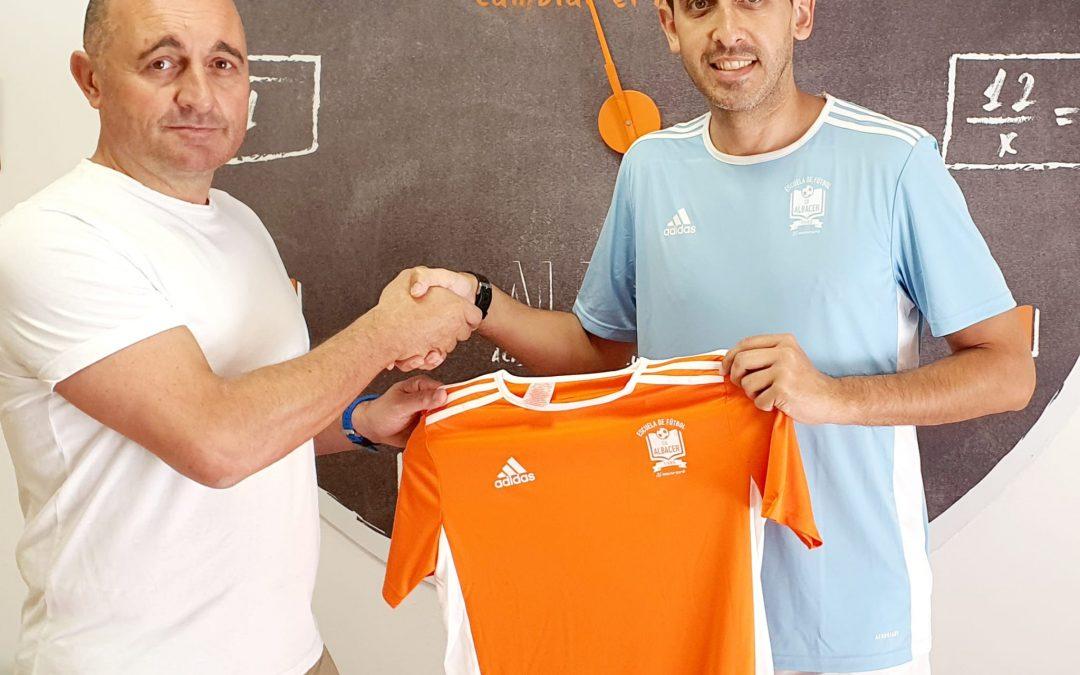 Pedro David Hernán continuará como entrenador del Juvenil Nacional del CD Albacer.